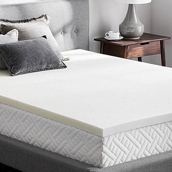 Amazon Com Weekender 2 Inch Memory Foam Mattress Topper King