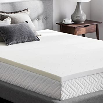 Amazon Com Weekender 2 Inch Memory Foam Mattress Topper Twin Xl