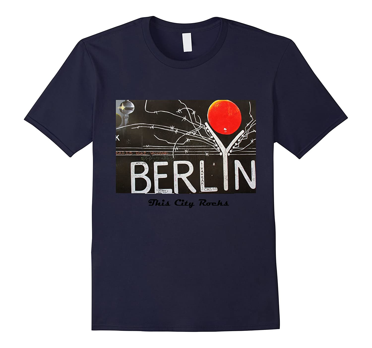 Berlin printed design tshirt t-shirt shirts tee-Art