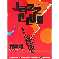 Jazz Club Alto Sax Grades 1-2 (+CD)
