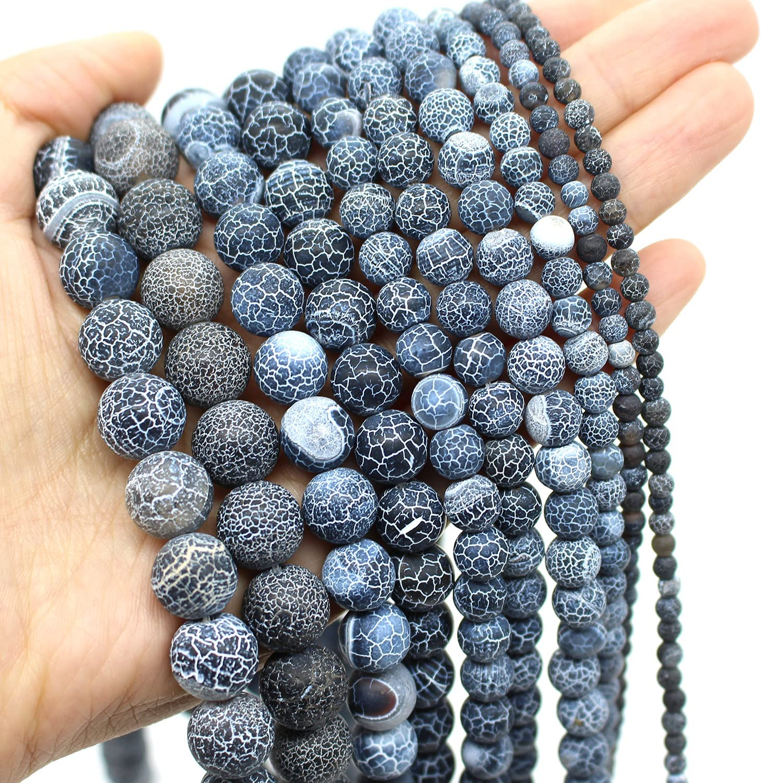 Two 15.5 strands Hematite Beads Matte 4mm
