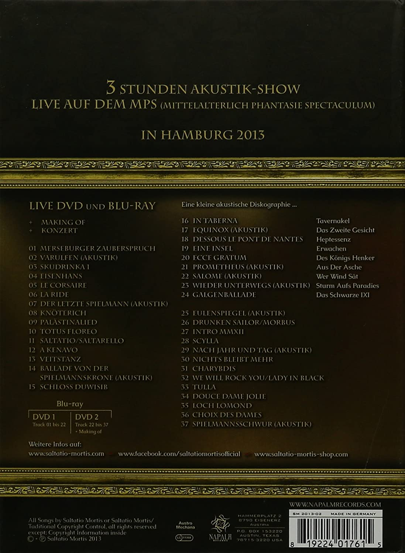 Saltatio Mortis - Provocatio: Live auf dem Mittelaltermarkt Blu-ray ...