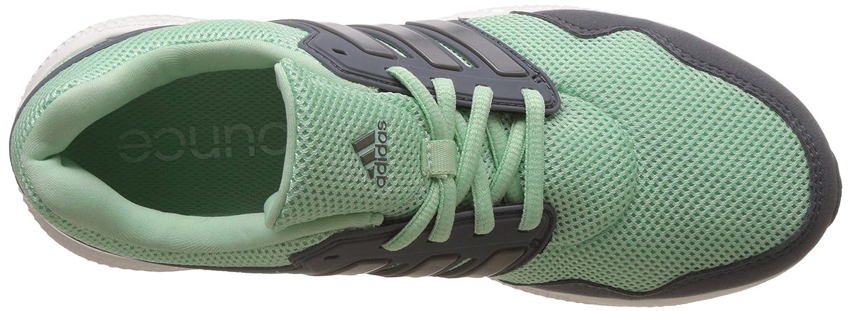 La Stabilité De Rebond Adidas Ozweego W - Chaussures Femme, Vert / Gris / Argent, Taille 38
