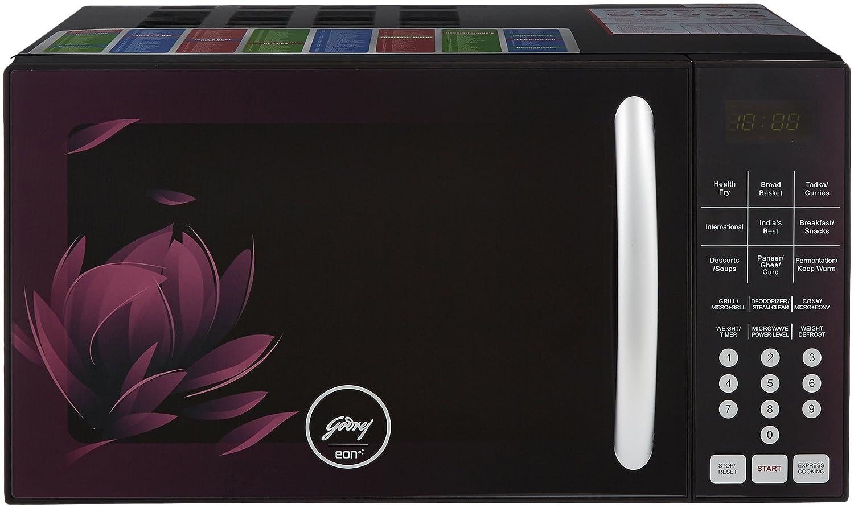 Godrej 25 L Convection Microwave Oven (GME 725 CF2 PZ, Purple Petals):  Amazon.in: Home & Kitchen