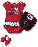 NFL Girls Newborn Atlanta Falcons Team Love