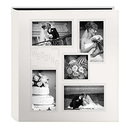 amazon com pioneer collage frame embossed wedding sewn leatherette