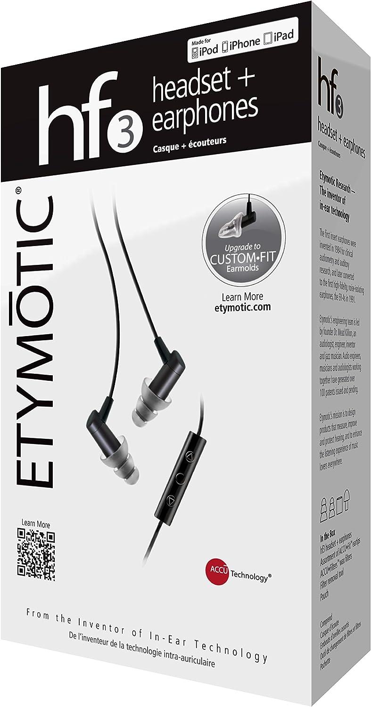 best microphone IEMs - Etymotic ER23-HF3-Black