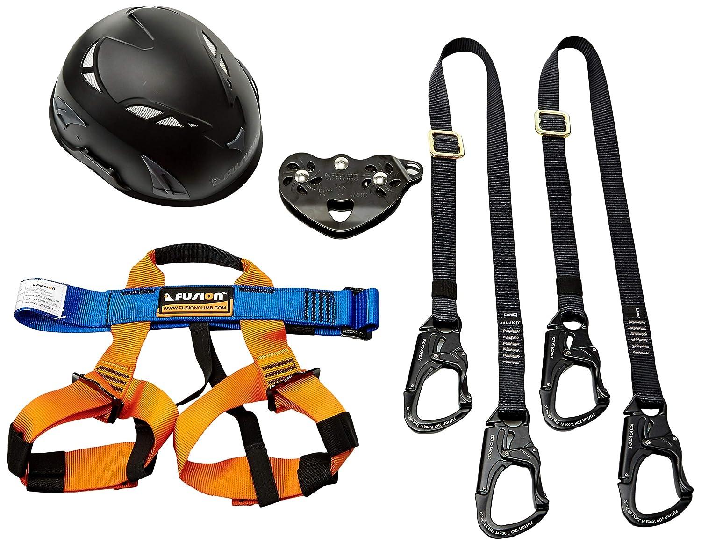 Fusión Climb Tactical Edition Niños Comercial Zip Line Kit de ...