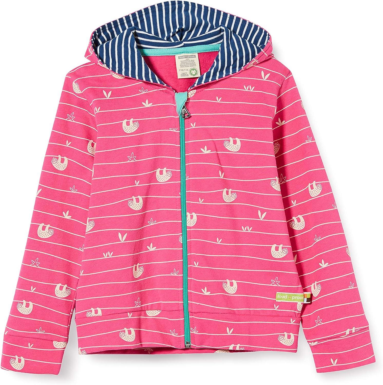 proud Jacket Allover Print Organic Cotton Giacca Bambina loud