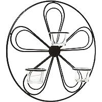 Hosley 13,5cm de Diámetro Diseño de Flores Té