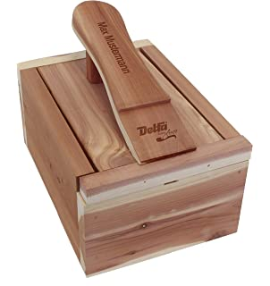 Marymarygardens Boîte à cirage en bois Style traditionnel Design français MSv7V77F