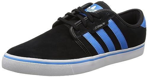 half off d79f4 2061e Adidas Seeley - Zapatillas de skateboarding para Hombre, color negro, talla  42 2 3  Amazon.es  Zapatos y complementos