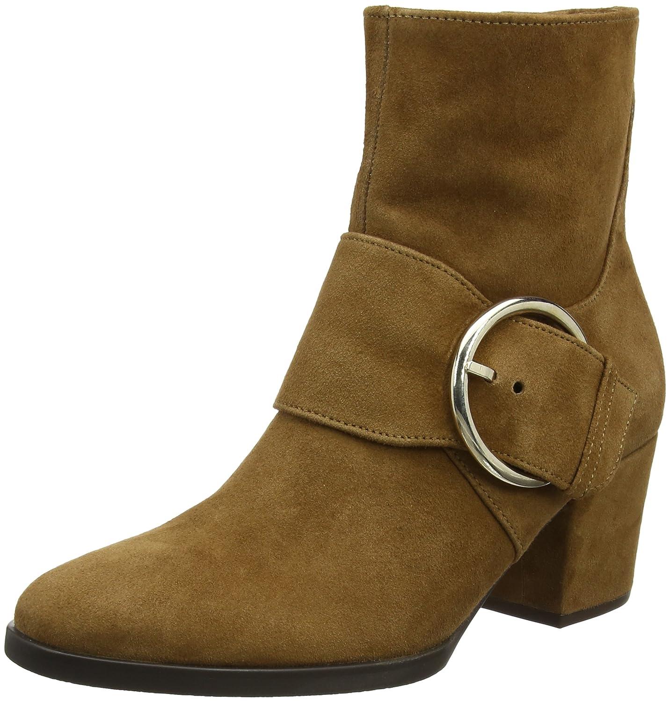 Gabor Shoes Comfort Fashion, Botas para Mujer Marrón (24 Curry Micro)