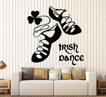 Amazoncom Wall Stickers Vinyl Decal Ireland Irish Dance Dublin - Nursery wall decals ireland