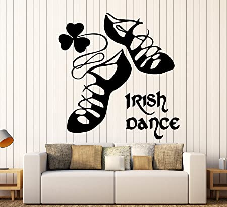 Wall stickers vinyl decal ireland irish dance dublin celtic ig253