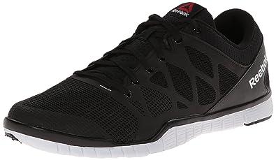 Reebok Men's Zquick TR 3.0 Training Shoe, Black/White, ...