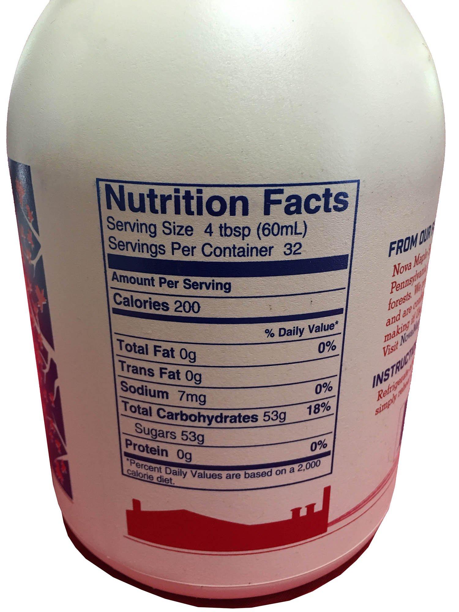 Nova Maple Syrup - Pure Grade-A Maple Syrup (Gallon) by Nova Maple Syrup (Image #3)