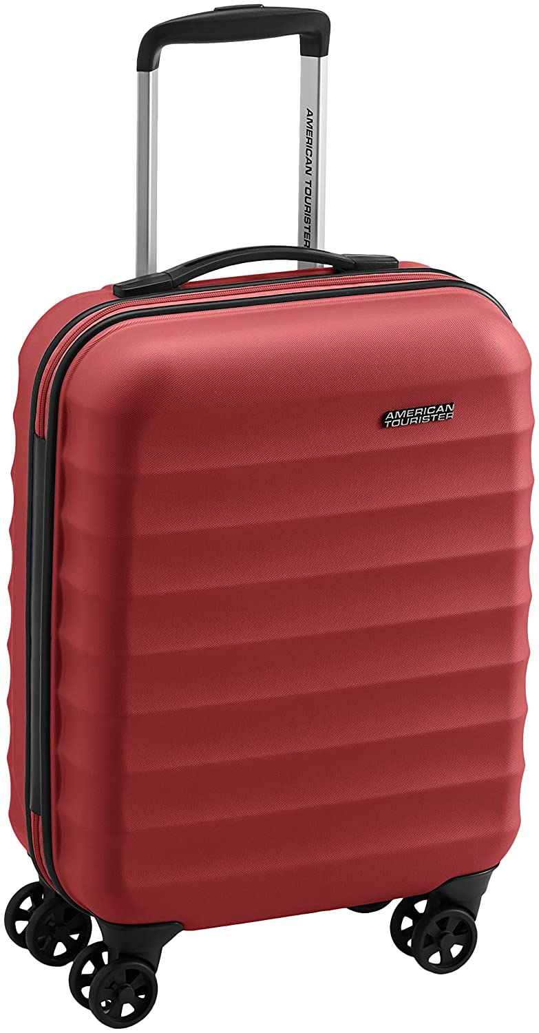 American Tourister Palm Valley spinner equipaje de cabina rojo bright red S