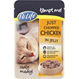 HiLife Tempt Me Cat Food Just Chopped Chicken in Jelly '16 x 85g Pouches'