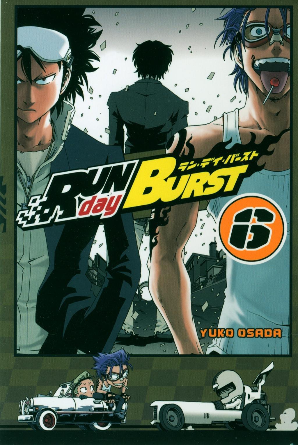 Run day Burst Vol.6 Poche – 22 mars 2012 OSADA Yûkô Ki-oon 235592371X Comics & mangas
