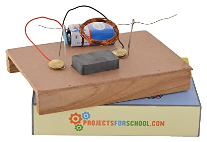 Buy Simple Dc Motor Circuit School Science Project Working Model ...