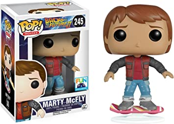 FUNKO POP Back to the Future Exclusive Canada Marty McFly Figure Action