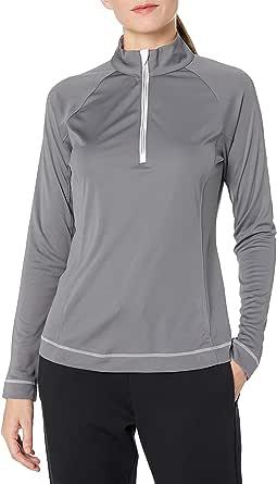 Cutter & Buck Women's CB Drytec Long Sleeve Evolve Half-Zip