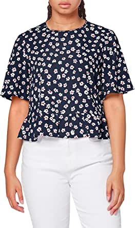 Tommy Hilfiger Tjw Printed Peplum Top Camisa para Mujer ...