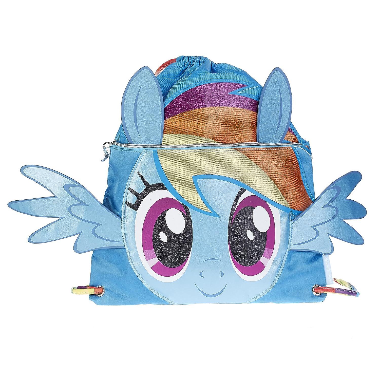 Karactermania My Little Pony Rainbow Bolsa de Cuerdas para El Gimnasio, 41 cm, Azul 93943