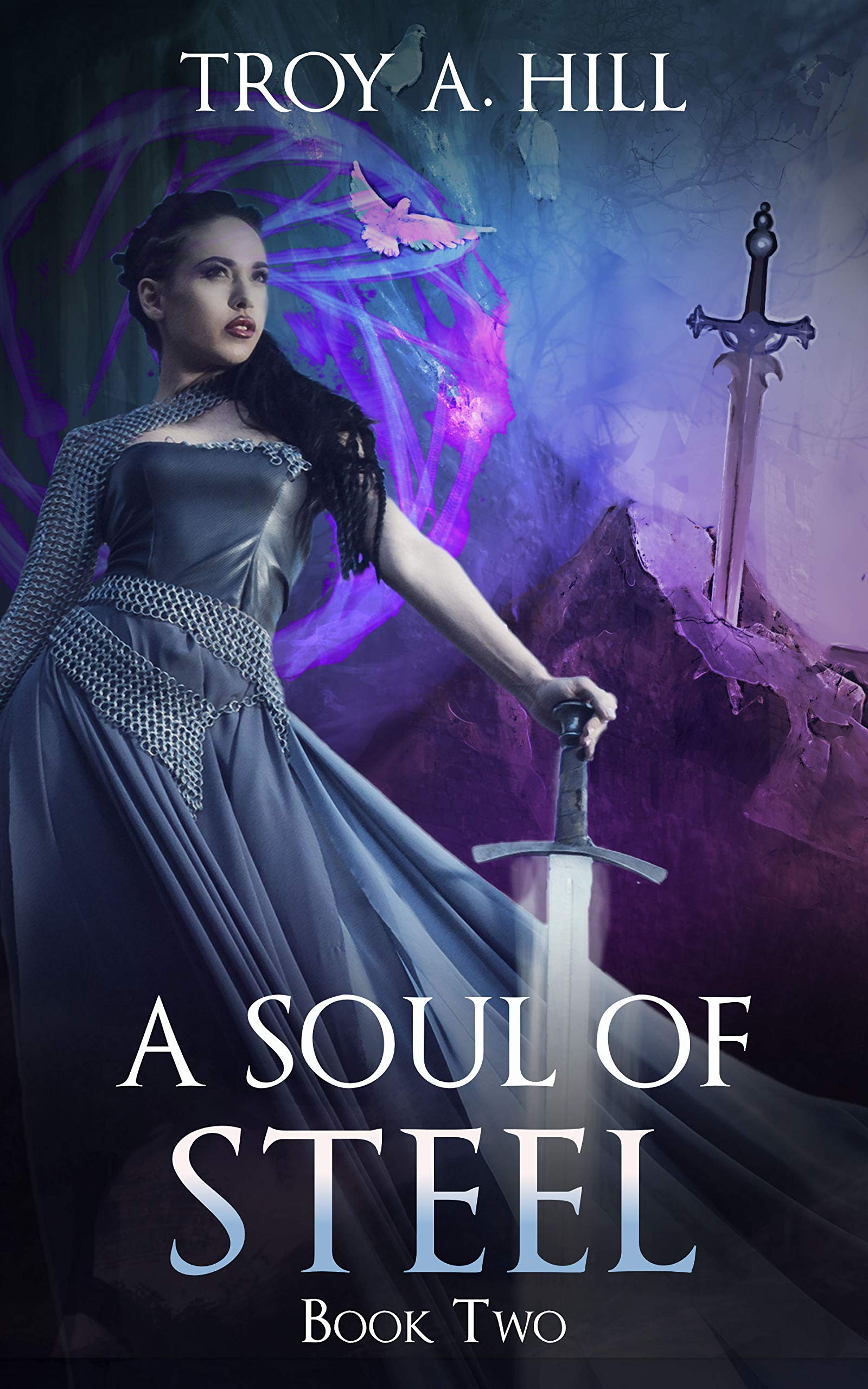 A Soul of Steel: Medieval Urban Fantasy in Post Arthurian Britain (A Cup of Blood Book 2) (English Edition)