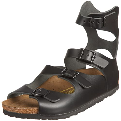 a36e02d636194 Birkenstock Athens Smooth Leather, Unisex-Adults' Sandals: Amazon.co ...