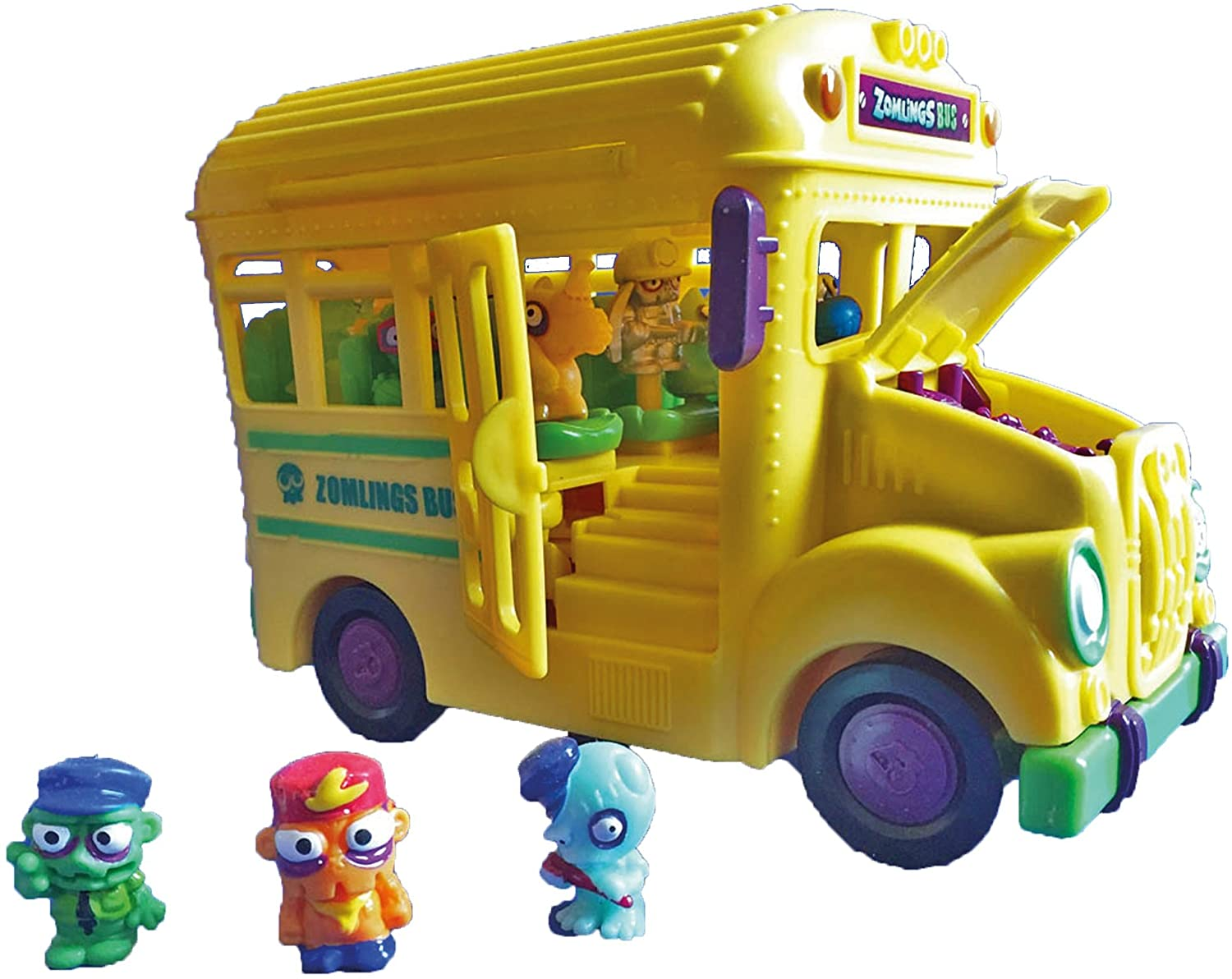 ZOMLINGS- Crazy School Bus (Magic Box INT Toys P00899): Amazon.es: Juguetes y juegos