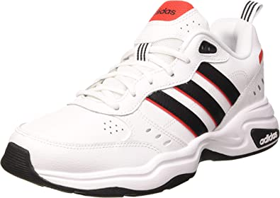 adidas Men Shoes Strutter Sneakers Lifestyle Fashion White Leather Chunky EG2655