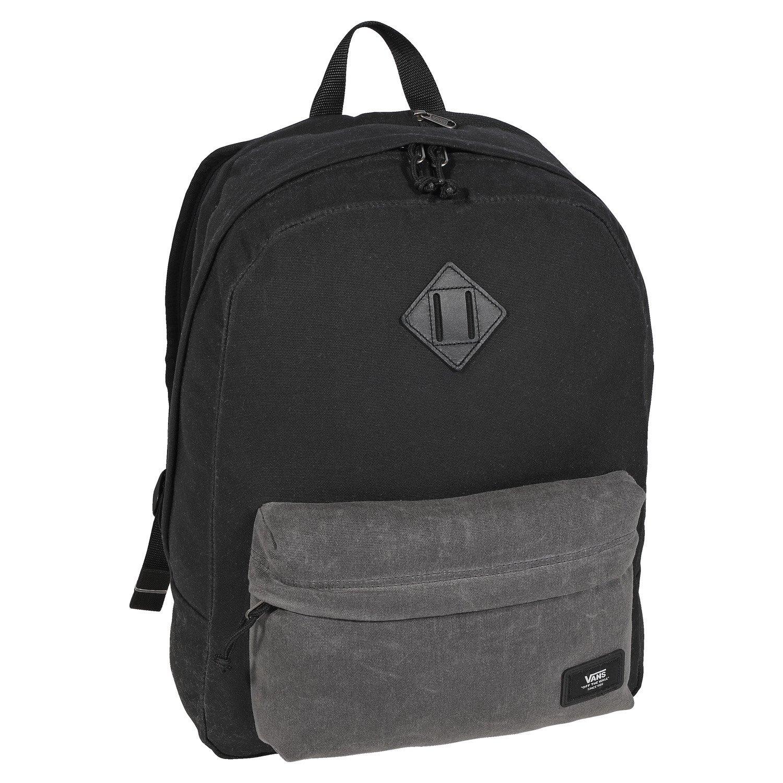 Vans Old Skool Plus Backpack Black Asphalt Gray