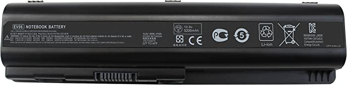 Top 10 Battery For Hp Pavilion Dv61030 Laptop