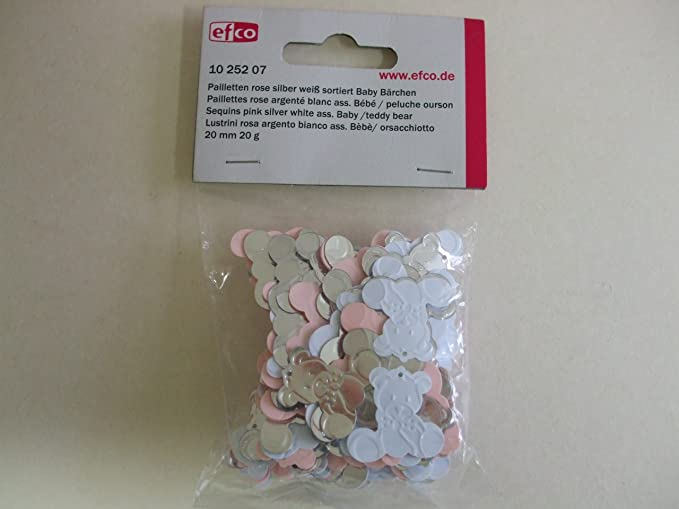 20 Teddy Bears Baby Embellishments Blue//Pink for cardmaking//Scrapbooking