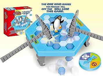 NEO+- Juego de Mesa Salva al Pingüino (61788): Amazon.es: Juguetes y juegos
