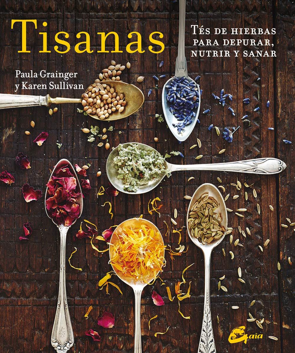 Libro sobre tisanas