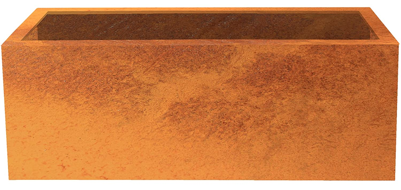 'Modular Raised Garden Bed/Lotte Corten Steel Planter 150x 40cm Depth 50cm | Palatino