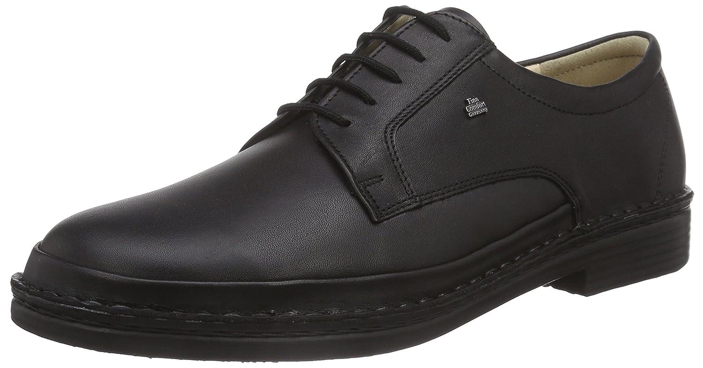 Finn ComfortKent - Zapatos Derby Hombre 11 1/2|Negro - Negro