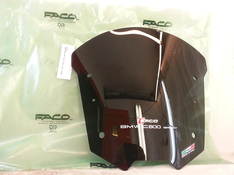 CICMOD Parabrisas Moto C/úpula Parabrisas Moto Antiviento Windshield WindScreen para Yamaha YZFR6 YZF 600 R6 1998-2002 N377 Negro