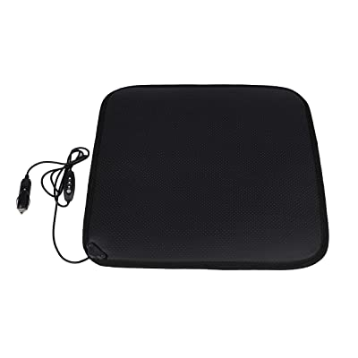 Facon 12Volt Heater Car Seat Cushion with 3-Way Temperature Controller for Car Trucks Vehicle: Home & Kitchen
