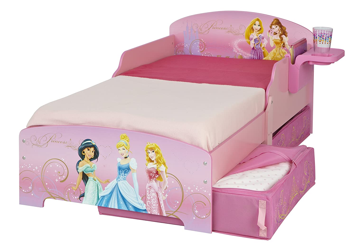 Worlds apart (wap) 499dir01em disney princess lettino con cassetto ...