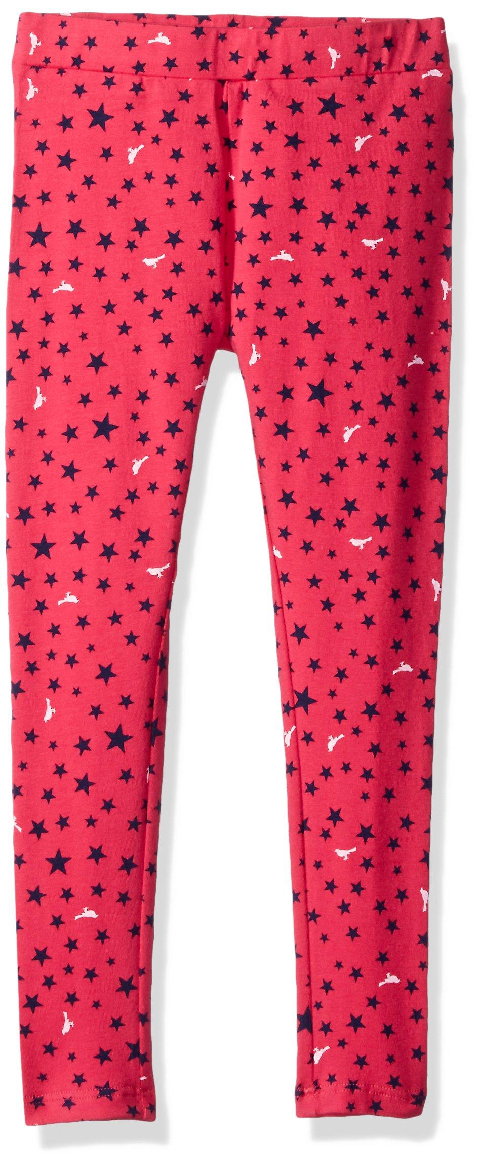Scout + Ro Big Girls' Printed Star Jersey Legging, Lollipop, 7