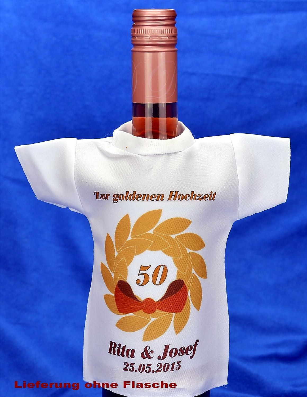 Mini T Shirt Für Flaschen Bedruckt Als Geschenk