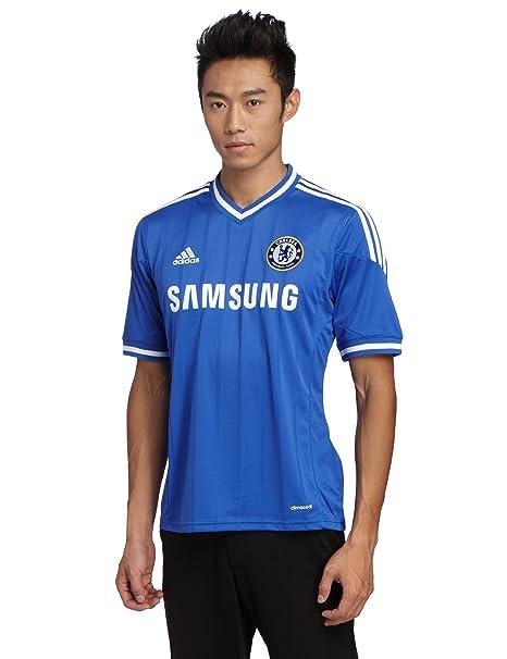 Adidas kurzärmliges Trikot Chelsea FC Home Jersey - Camiseta de equipación de fútbol para hombre,