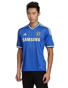 Adidas kurzärmliges Trikot Chelsea FC Home Jersey - Camiseta de equipación de fútbol para hombre, color azul, talla XL: Amazon.es: Deportes y aire libre