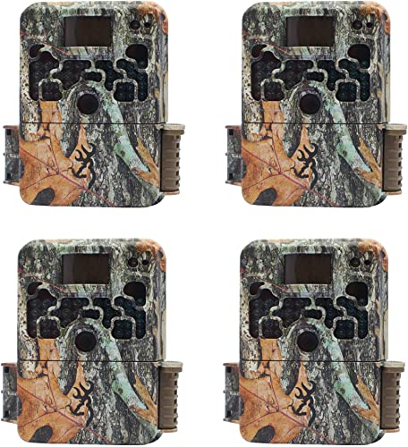 4 Browning STRIKE FORCE HD 850 Micro Trail Game Camera 16MP BTC5HD850