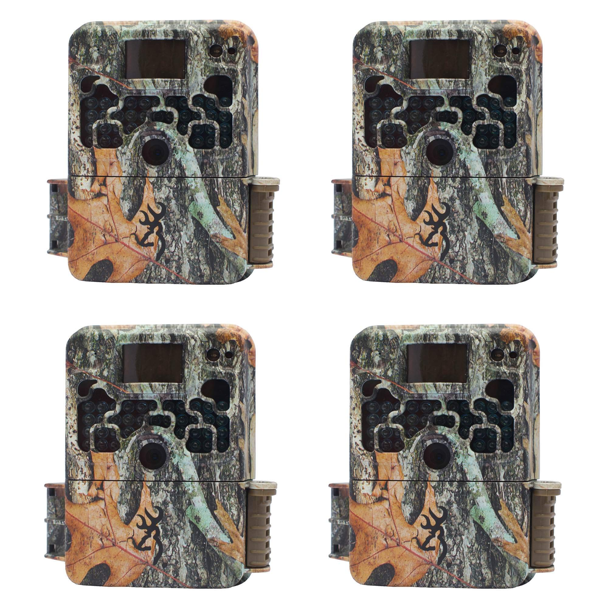 Browning Strike Force HD 850 Micro Trail Game Camera (16MP) | BTC5HD850 4 Pack by Browning Trail Cameras
