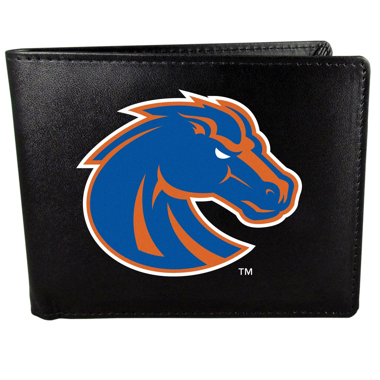 Siskiyou NCAA Unisex Bi-fold Wallet Large Logo